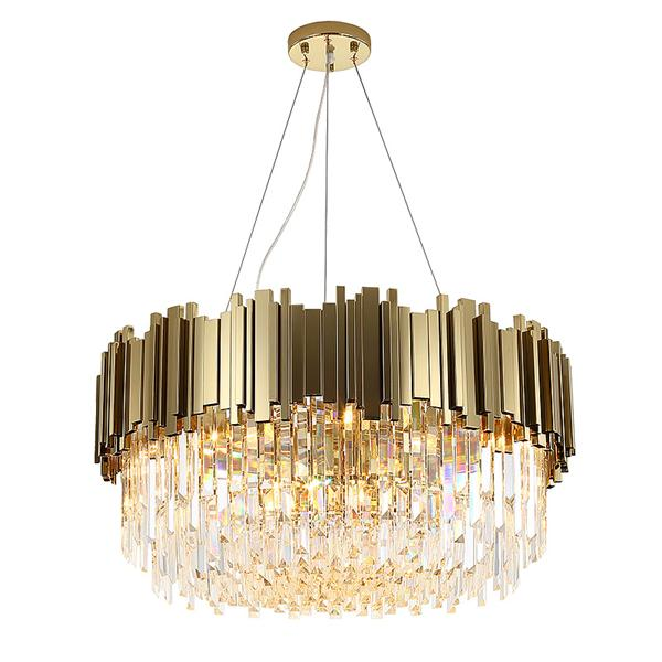 Luxury living room crystal pendant lamp