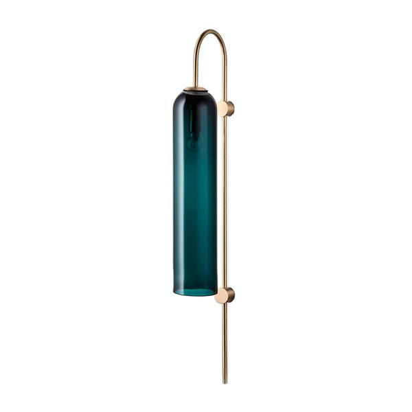 Postmodern glass tube wall lamp Europe and America