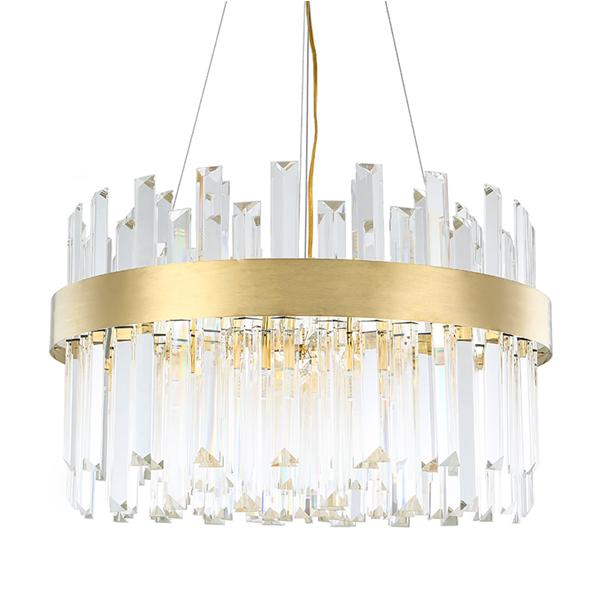 Light luxury crystal living room chandelier