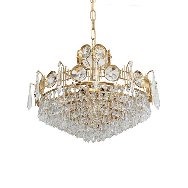 Custom lighting crystal chandelier for hotel lighting engine