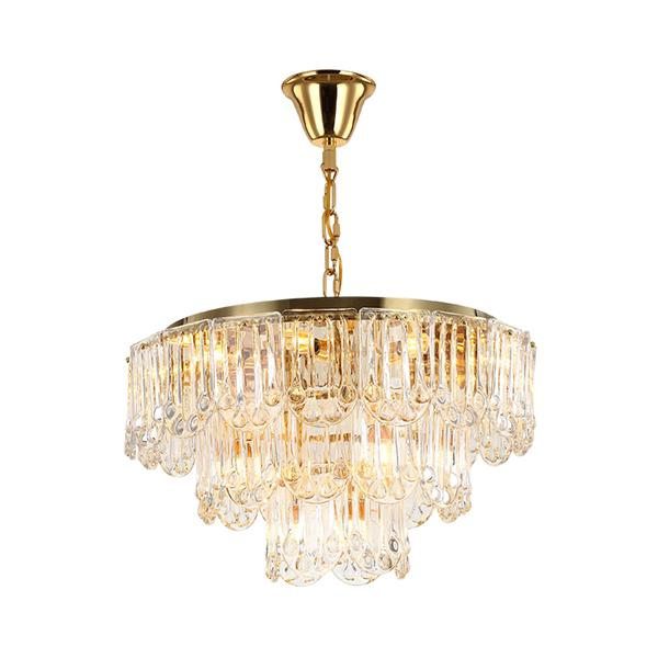 Crystal chandelier living room lamp bedroom lamp