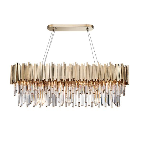 Post-modern luxury crystal pendant lamp